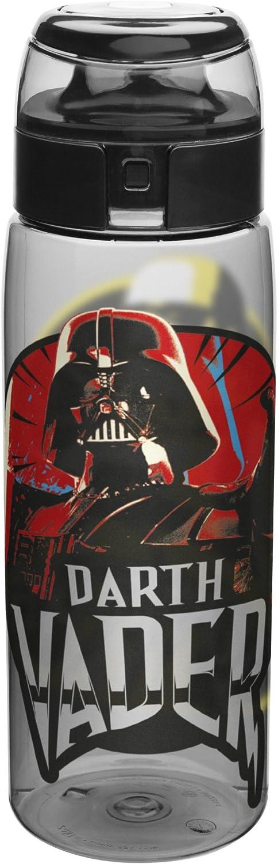 Zak Designs Star Wars Water Bottles, Tritan Ep4 Darth Vader