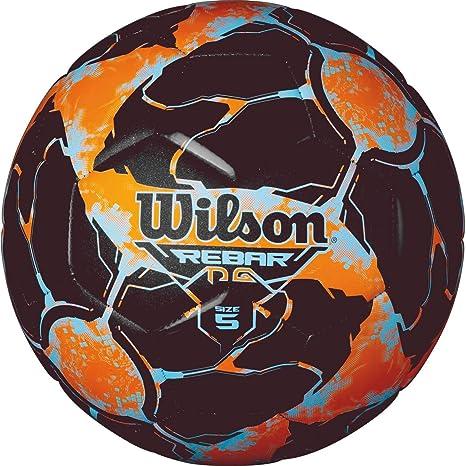 Wilson Rebar Ng Pelota de Fútbol, Unisex Adulto, Blue/Orange ...