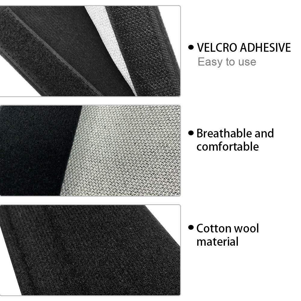 2/pezzi universale auto cintura di sicurezza tracolla Pad morbido cuscino poggiatesta supporto cervicale no Rubbing no slip