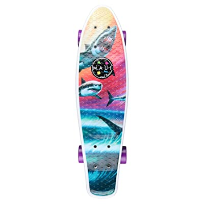 'Penny Skateboard Maui Wave Predators 24 ""