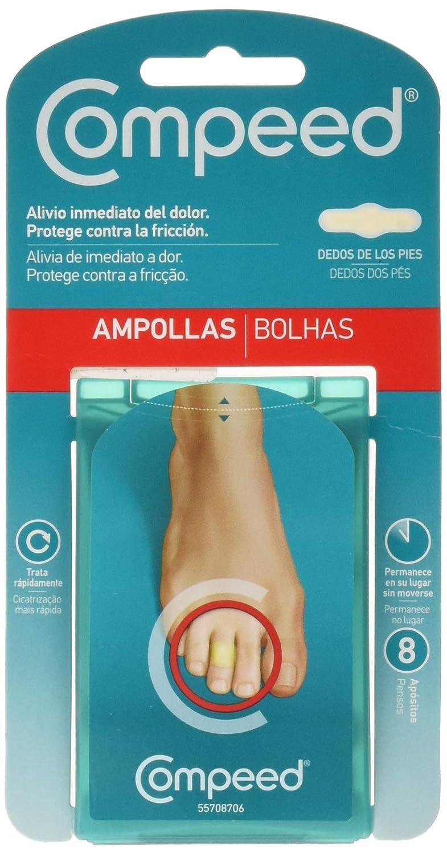 Compeed Apósitos, Ampollas Entrededos, 8 Unidades: Amazon.es: Salud y cuidado personal