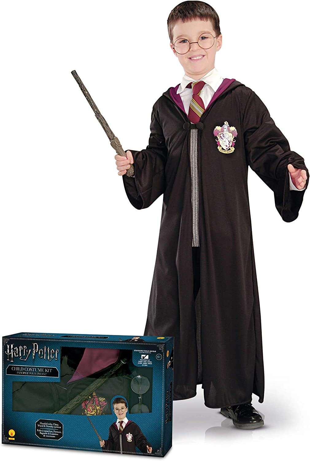 Generique - Caja Disfraz Harry Potter niño Talla única: Amazon.es ...