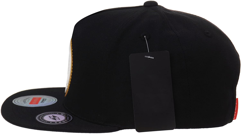 WITHMOONS Snapback Hat Illuminati Patch Hip Hop Baseball Cap AL2344