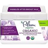 Plum Organics Grow Well Organic Infant Formula, 21 Ounce (Packaging May Vary)