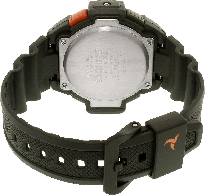 Amazon.com: Casio Mens Sports SGW450H-2B Black Rubber Quartz Watch: Casio: Watches