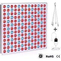 Roleadro Lampade per Piante, 75w Grow LED Coltivazione Indoor Idroponica Lampada Crescita Luci Piante Illuminazione di Pannello per Luminosa LED per Piante
