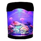 CALOVER Ocean Decor Electric Jellyfish Tank