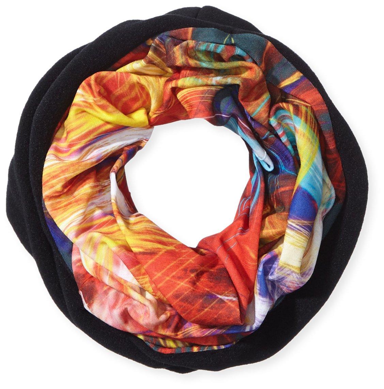 Pañuelo HAD Head Accessoires Original, Lazer Fleece/Black (tela polar láser/negro), talla única, HA2...