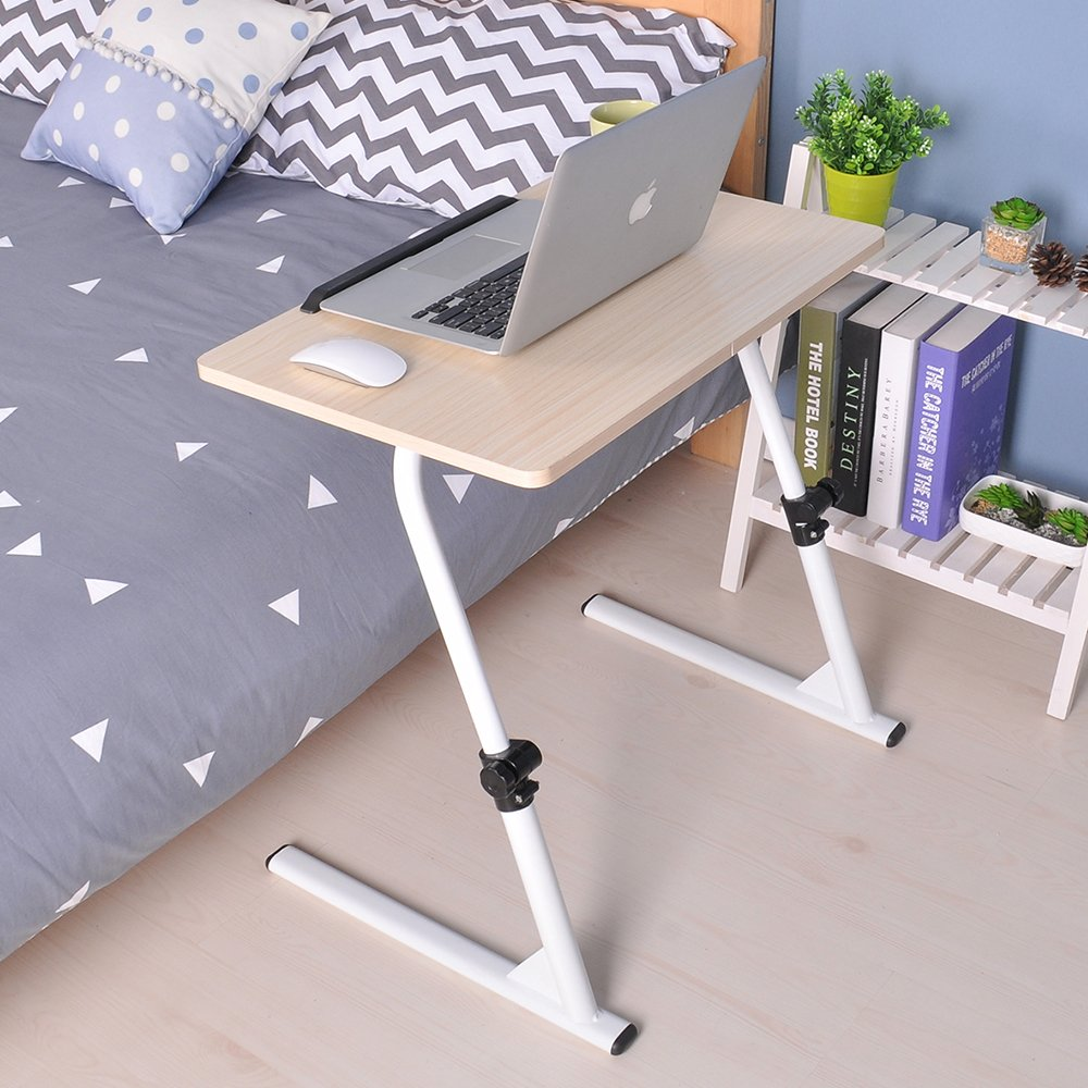 Adjustable Lap Table Portable Laptop Computer Stand Desk Cart Tray Notebook  Tax0