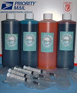 64oz 4 Pint / 16 Oz B/c/m/y Ink Kit Refill