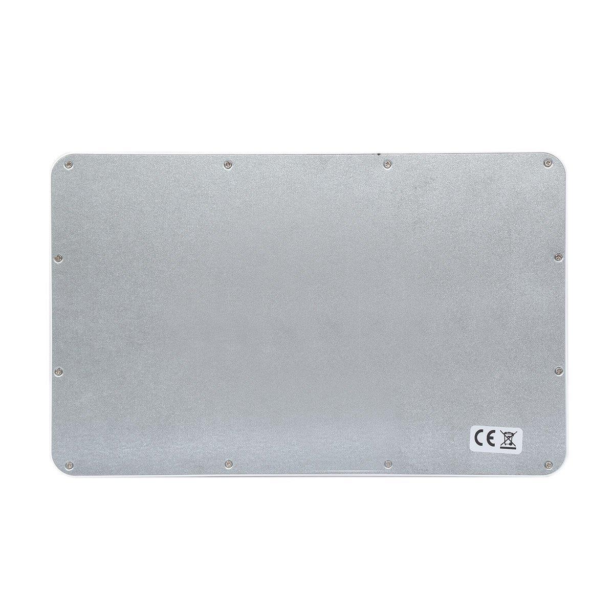 CoastaCloud Portable 10-inch Ultra Slim ABS Wireless Bluetooth Keyboard for iPad 10.5, iPad 9.7'', iPad Pro, iPad Air, iPad 2/3/4, Galaxy Tab Note and Any iOS, Android, Windows Tablets (White) by CoastaCloud (Image #8)