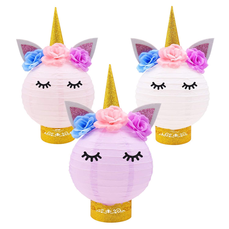Amazon Com Unicorn Party Decorations Unicorn Table Centerpieces