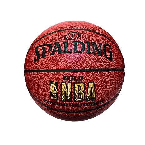 Spalding NBA Gold 63760 - Balón de Baloncesto (tamaño 7): Amazon ...