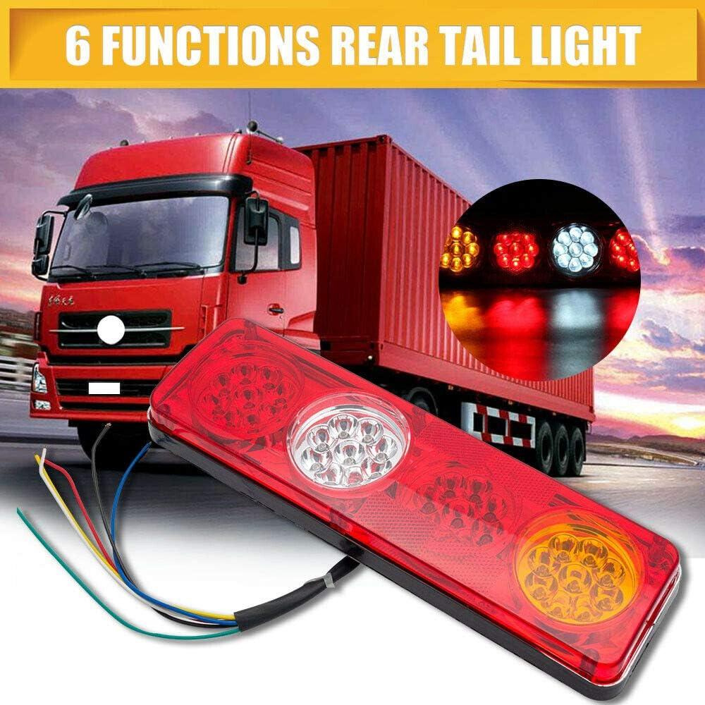 2 x 36 LED 12V feux arri/ère Ute remorque caravane camion bateau indicateur de marche arri/ère mat/ériau ABS Feux Arri/ère