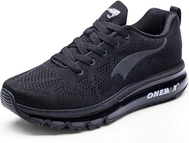 Onemix Air Homme Baskets Chaussures de Course Jogging Gym