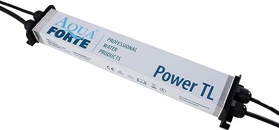 Aquaforte Power Uv Tl 55 Watt Uvc Pond Lamp Clarifier Filter Aluminium Aqua Garten