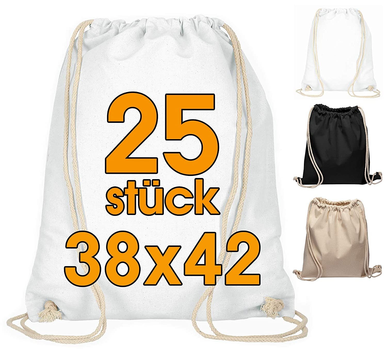 ELES VIDA Bolsa de Deporte de algodón, 25 Unidades, 38 x 42 cm ...