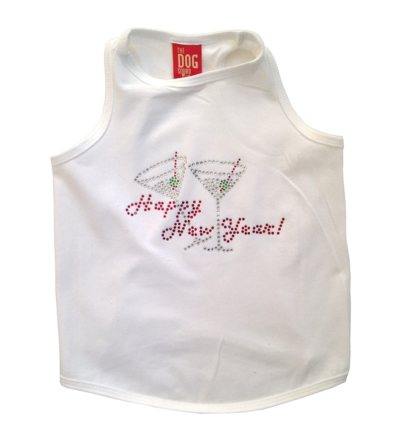 The Dog Squad New Year's with a Twist Tank Top for Dogs, Medium