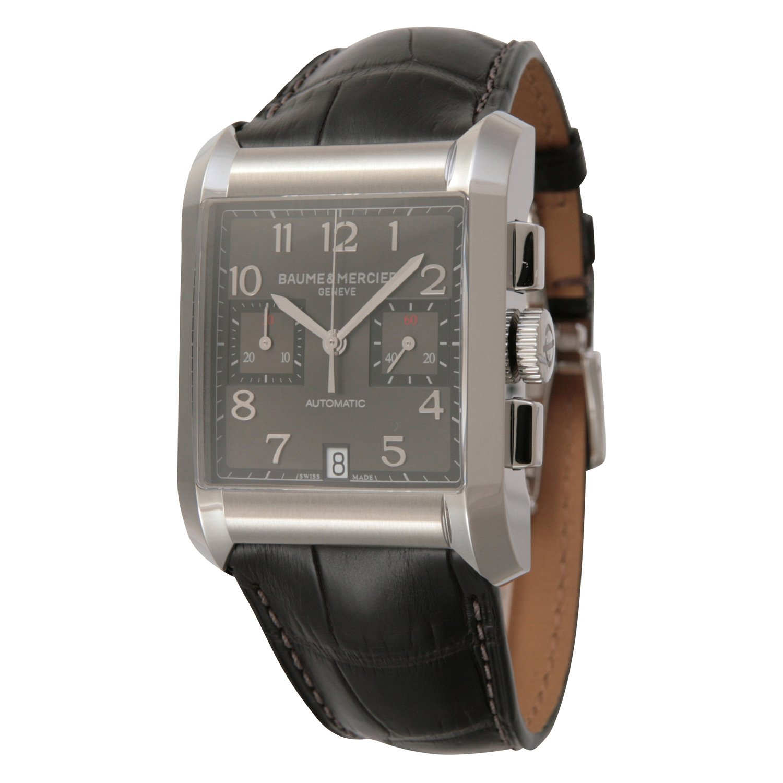 [ボーム&メルシェ]Baume&Mercier 腕時計 ハンプトン クロノグラフ メンズ 34mm SS 自動巻き ブラウン アリゲーター MOA10030 メンズ 【並行輸入品】 B008620TX2