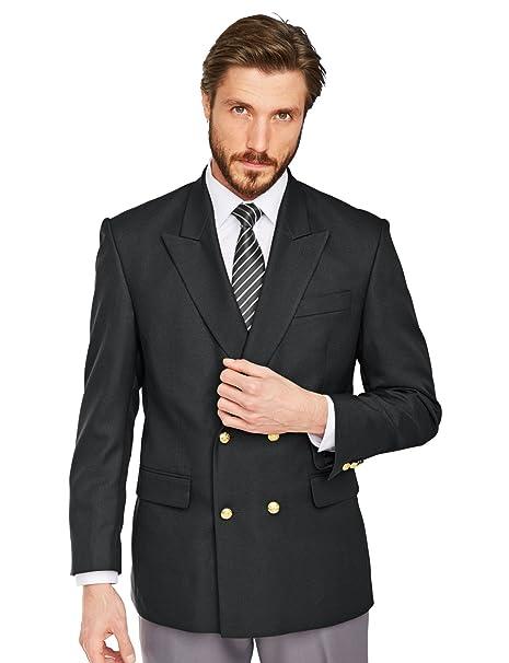 timeless design 108f7 9274d Doppio Petto Oxford Giacca Uomo: Amazon.it: Abbigliamento