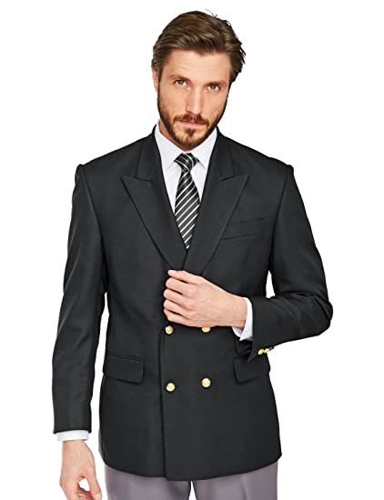 05df7d2f1353 Chums Mens Double Breasted Oxford Blazer  Amazon.co.uk  Clothing