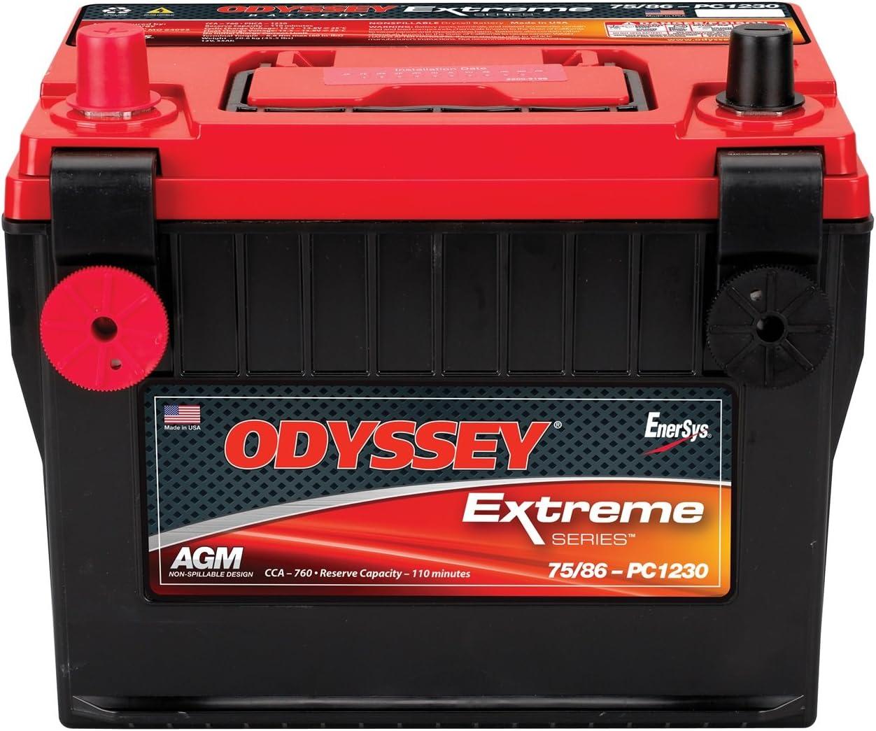 Odyssey PC1230DT Automotive and LTV Battery