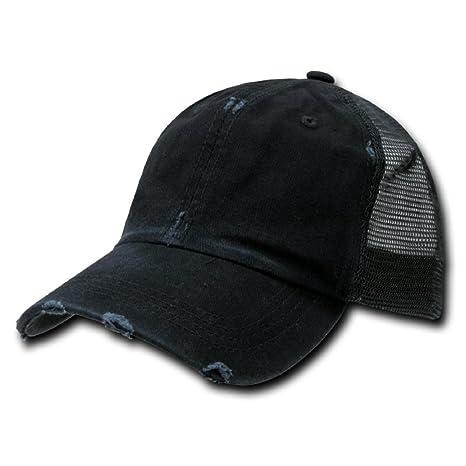 Amazon.com  DECKY 2in1 Combo 2pk Vintage Mesh Caps Baseball cap ... fd3b9005347