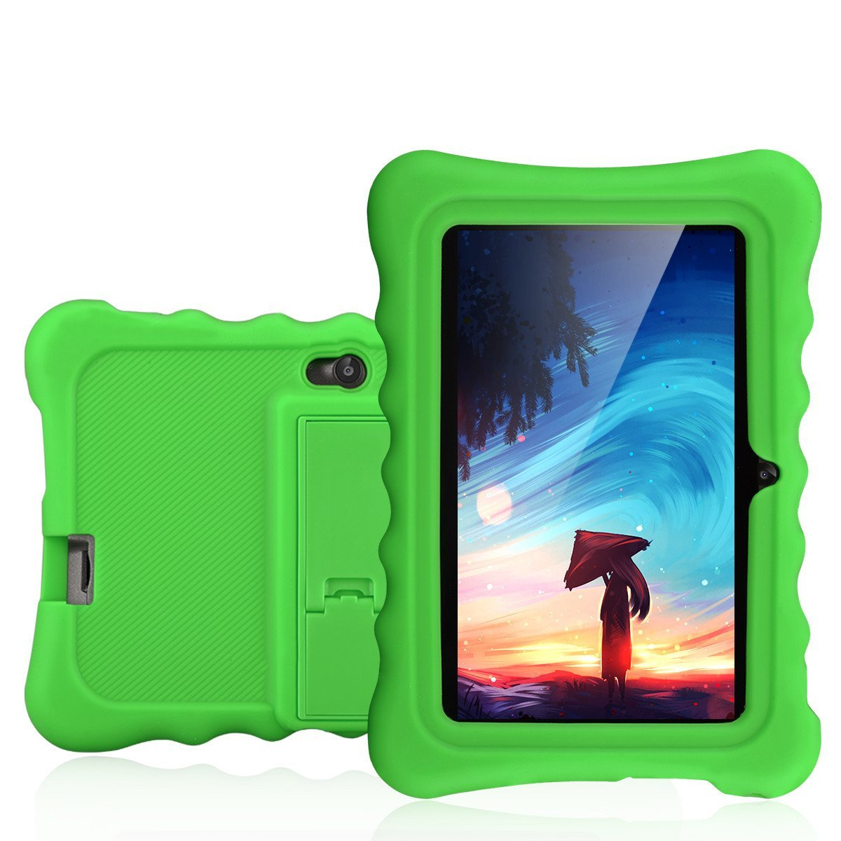 Ainol Q88 7 inch Eye-Protection Tablet with Adult Mode and Child Mode Android 8GB Education Tablet Gifts for Kids Sicicone Case Dual Camera WiFi External 3G by AINOL (Image #2)