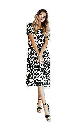 a483c3760776 Nesting Olive Buttery Soft Modern House Dress