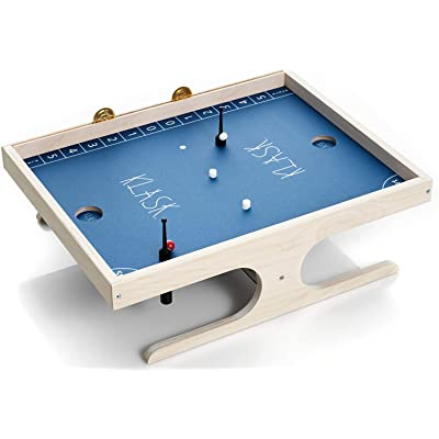 Klask - The Exciting Mix of Air Hockey, Table Football and Magnets: Toys & Games