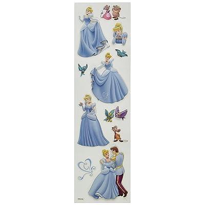 Disney Cinderella Slims Dimensional Sticker: Arts, Crafts & Sewing