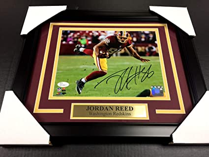 89235f43820 Image Unavailable. Image not available for. Color: Jordan Reed Autographed  Signed Memorabilia - JSA Authentic