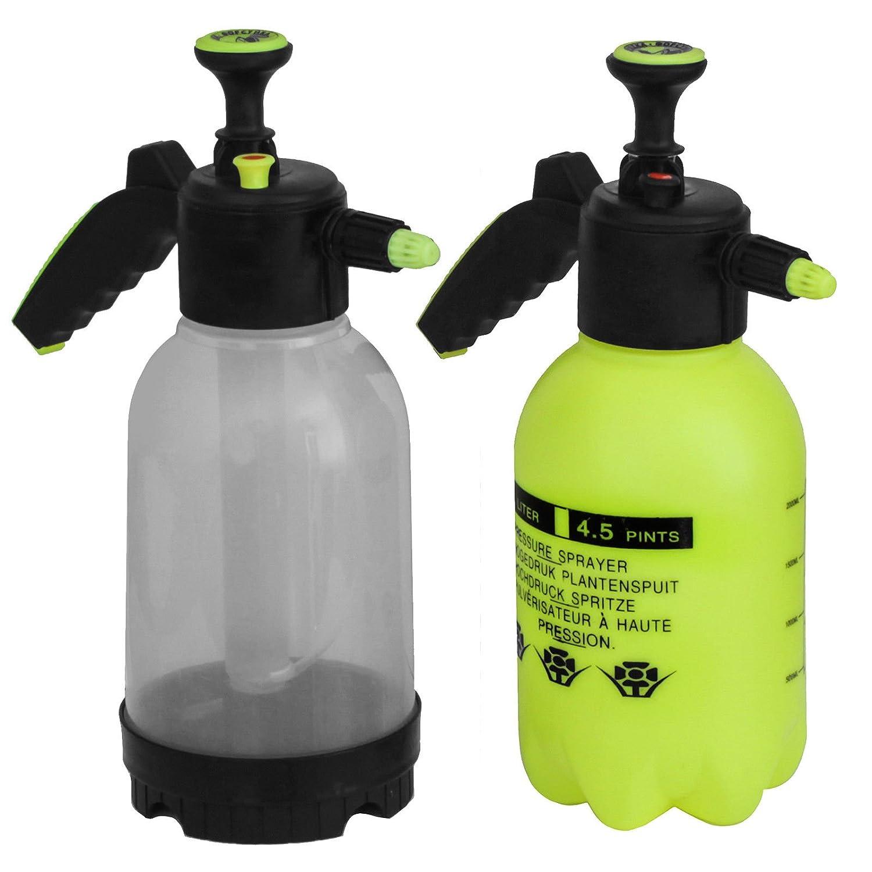 Edelstahlmarkenshop Pumpsprühflasche 2L in 2 Farben zur Auswahl (Gelb)