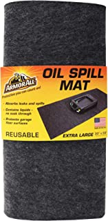 product image for Drymate Armor All Oil Spill Mat, Absorbent/Waterproof Garage Floor Protector, Reusable/Durable (Made in The USA)