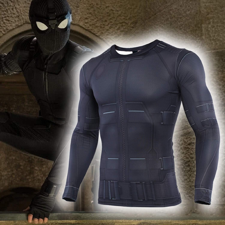 Spider-Man Far from Home Mens Compression Shirt 3D Print T-Shirt