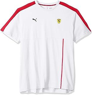 41a6aca5981 Amazon.com: PUMA Men's Scuderia Ferrari Big Shield T-Shirt: Clothing