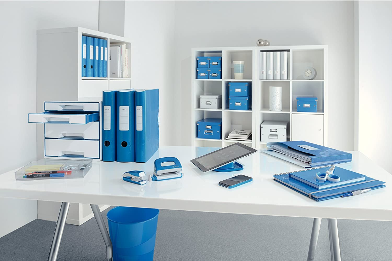 Click /& Store Leitz Scatola archivio Cubo M Cartone plastificato 61090064 Verde