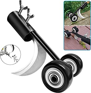 OFOCASE Manual Weeds Snatcher, Weed Puller Tool, Adjustable Weeding Cleaning Tool, Garden Weeder and Root Removal Tool Garden Tools for Patio Backyard Sidewalk