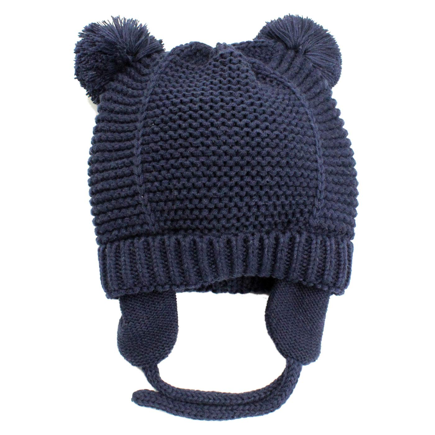 Boys Girls Breathable and Comfortable Loose Cute Various Colors Winter Warm Beanie Hat 5-10T Pink LANGZHEN