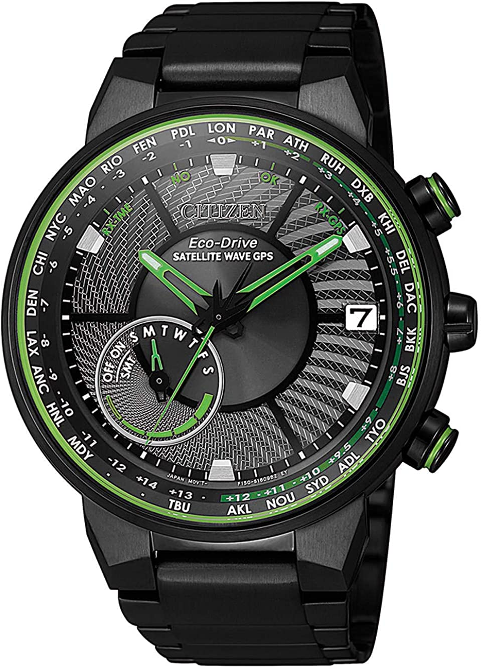 Citizen CC3075-80E Satellite Wave GPS