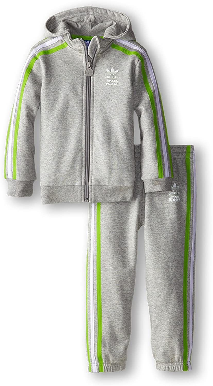 adidas Originals Boys Star Wars Yoda Fleece Tracksuit