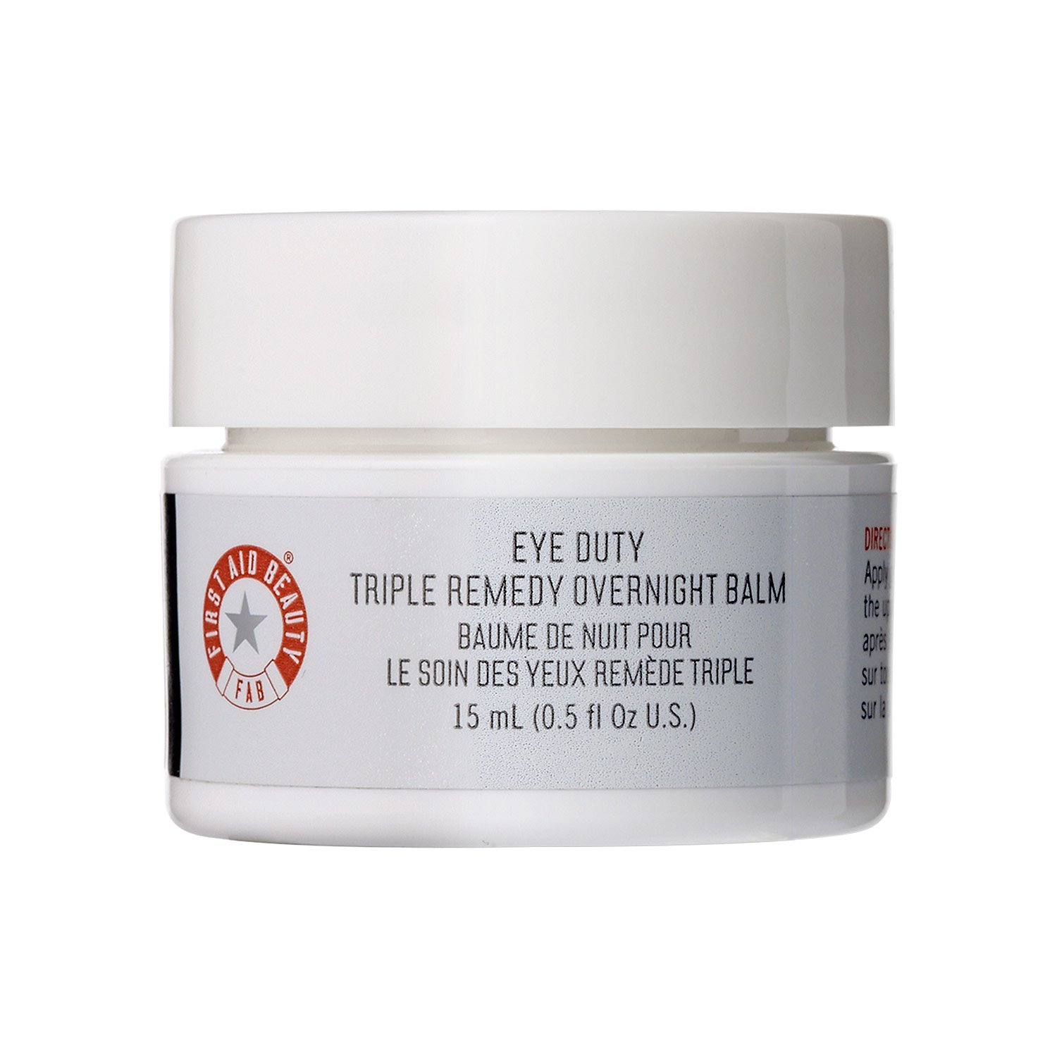 First Aid Beauty Eye Duty Triple Remedy Overnight Balm, 0.5 fl. oz. 432UK