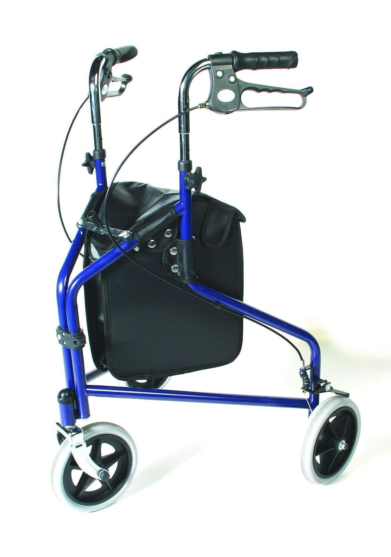 Patterson Medical - Andador de tres ruedas con frenos bloqueables ...