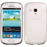 PhoneNatic Samsung Galaxy S3 Mini Hülle Silikon clear S-Style Case Galaxy S3 Mini Tasche Case