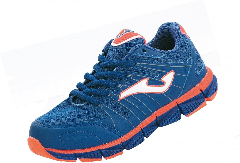 Joma - Zapatillas de Running de Material sintético para niño Azul ...