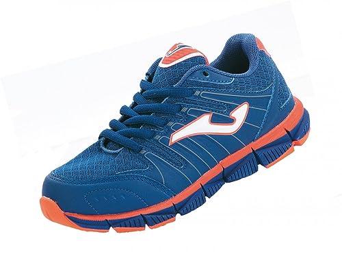 Joma - Zapatillas de running de material sintético para niño azul azul: Amazon.es: Zapatos y complementos