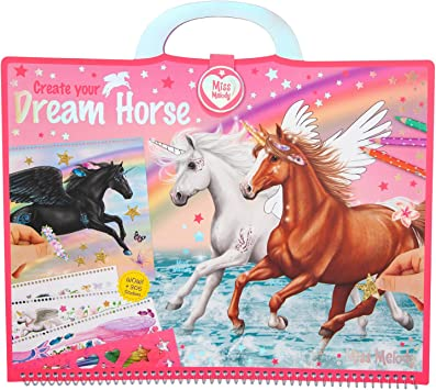 Depesche 10898 Miss Melody Approx Create Your Dream Horse 30.5 x 33 x 1.5 cm Colourful