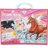 Depesche 10898 Miss Melody - kleurboek Create your Dream Horse, kleurboek met prachtige paardenmotieven, 60 pagina's…