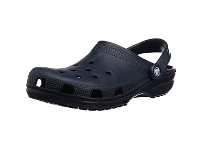 Crocs Unisex Adult Classic Clogs - Blue (Navy), 3 UK Men/4 UK Women (36-37 EU) (Manufacturer Size: M4/W6)