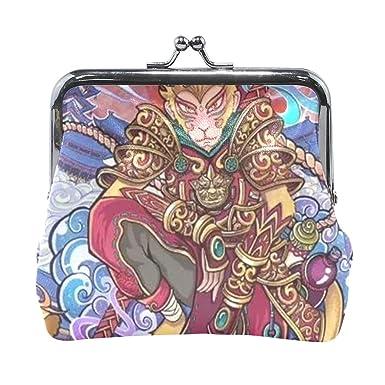 Amazon.com: Cartera china Zodiac mono King mono monedero ...